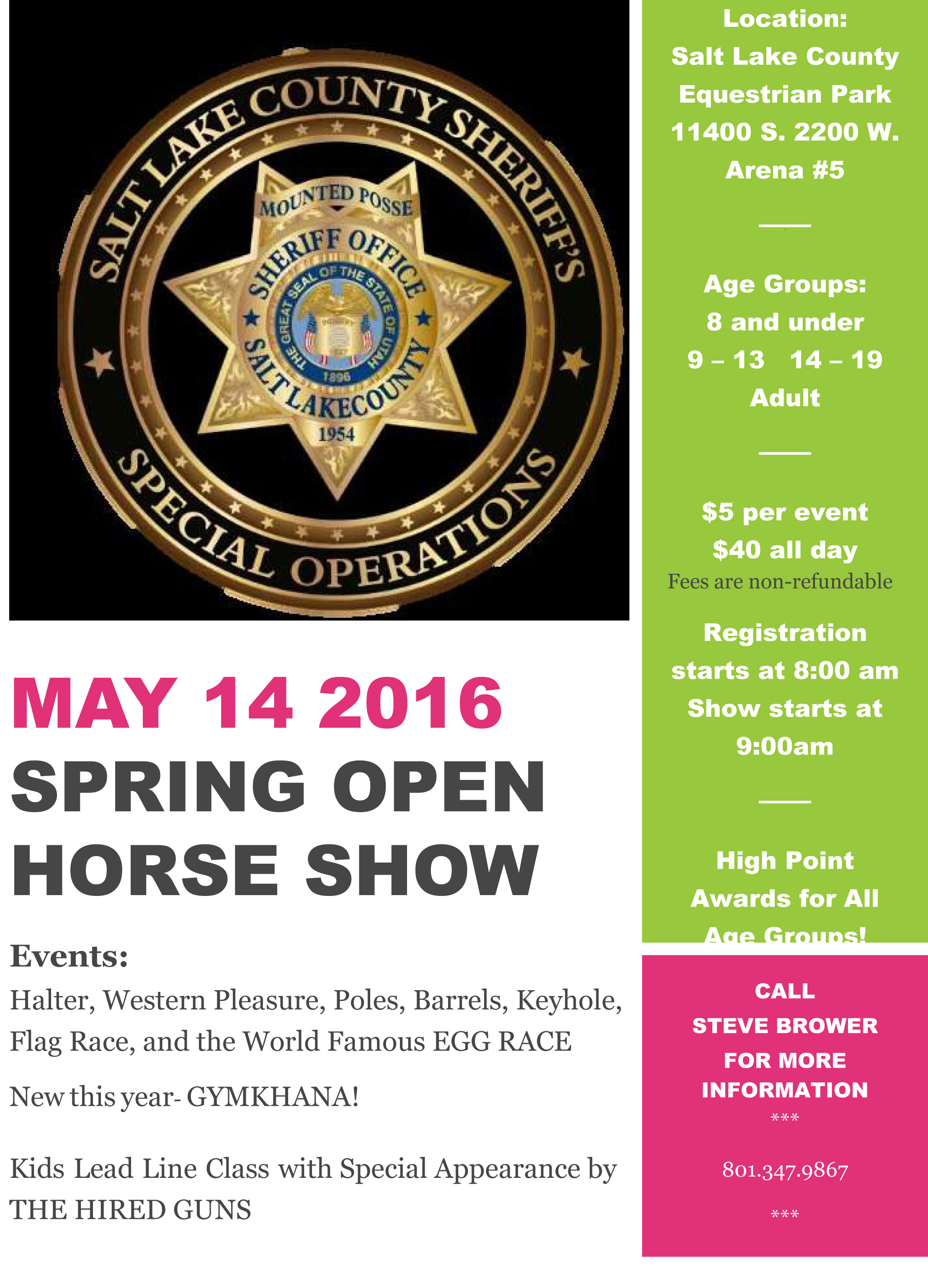 Spring Open Horse Show - Book Signing Event